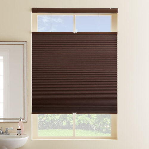 Just Shades Corporation | Cellular Shades | 3/4 Single Cell Blackout