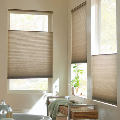 Wholesale Cellular Shades & Sliders | 9/16 Single Cell Light Filtering | Slub Woven Fabric | Just Shades Corporation