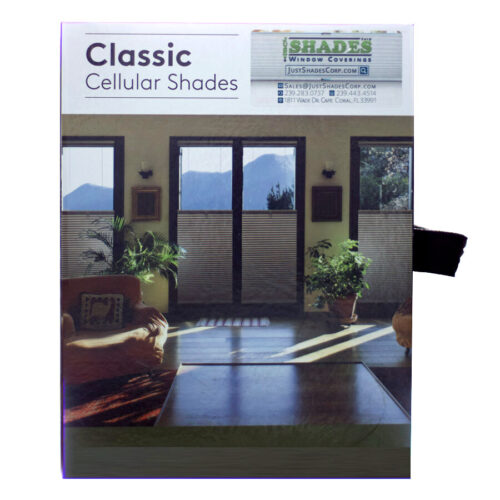 Wholesale Cellular Shades & Sliders | Sample Book