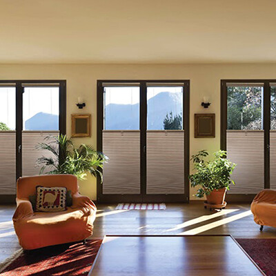 Just Shades Corporation | Cellular Shades & Sliders| 3/4 Single Cell Light Filtering